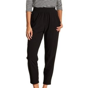 Free Press Tapered High Rise Pull-On Trousers